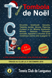 Tombola de Noël 2019