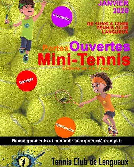 Portes ouvertes au Mini Tennis