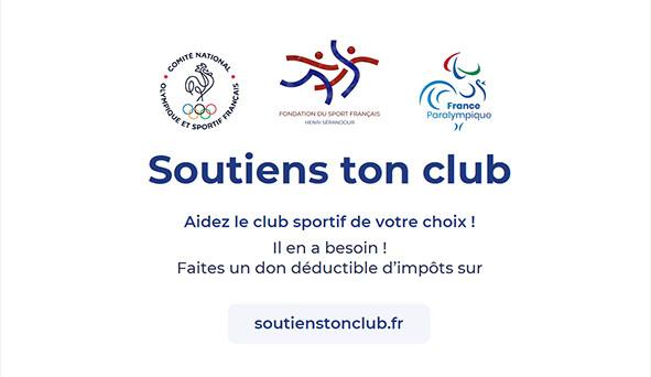 SOUTIENS TON CLUB
